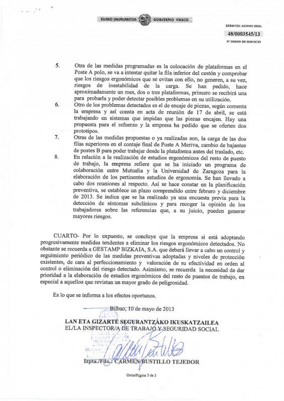 2013 Resolucion estudios ergonomicos Granalla L6 L10-2