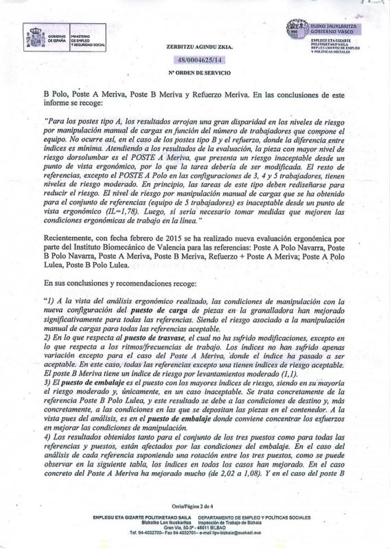 resolucion evaluacion ergonomica Poste A polo poste B polo Poste A meriva Poste B meriva y Refuer me-2