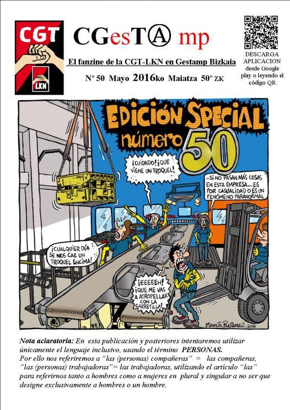 Fanzine 50 Abril 2016