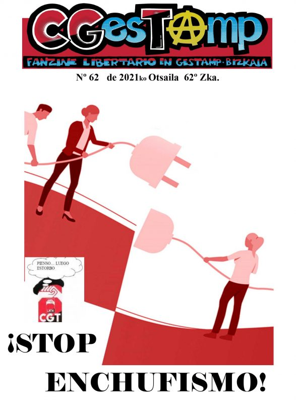 CGesTⒶ mp Nº62: ¡ STOP ENCHUFISMO!