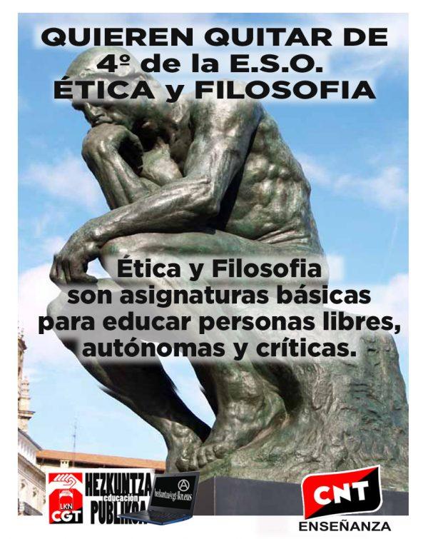 Defensa de la Ética en la Educación