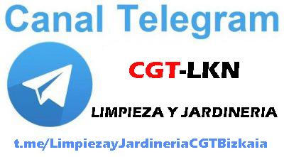 CANAL TELEGRAM LIMPIEZA Y JARDINERIA