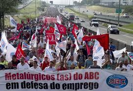 Huelga Volswagen Brasil