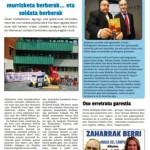ContraPortadaNº 16 del periódico monográfico contra los recortes