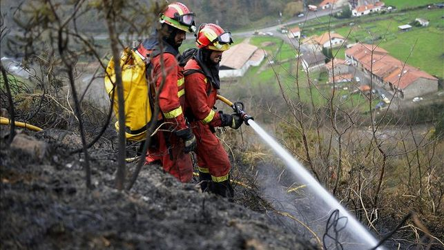 Fuego en el monte