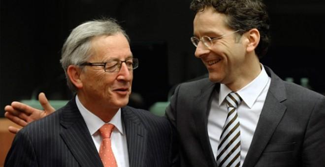 Jean-Claude- Juncker-Jeroen-Dijsselbloem-presidentes-UE