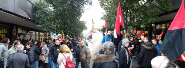 Manifestaci n en defensa del convenio de oficinas y for Convenio oficinas y despachos madrid 2016