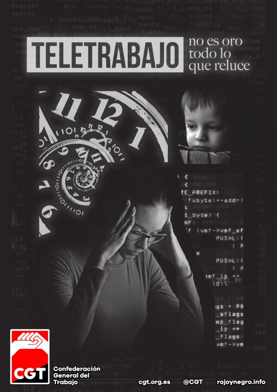 Propuesta Teletrabajo CGT + Comic, No es oro todo lo que reluce