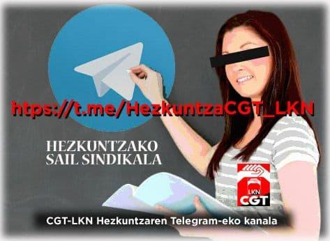 CANAL TELEGRAM CGT-LKN HEZKUNTZA