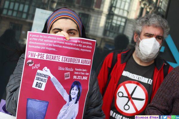 BERRI OTXOAK: Iniciativa contra el recorte de Lanbide a los derechos de mujeres e infancia en situación de precariedad y pobreza