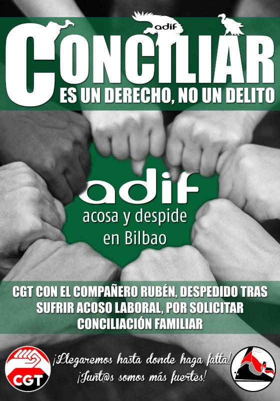 Vídeo:Concentración por la readmisión de Rafael y Rubén de ADIF