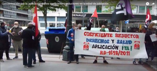 Vídeo: Concentración por la aplicación de los coeficientes reductores
