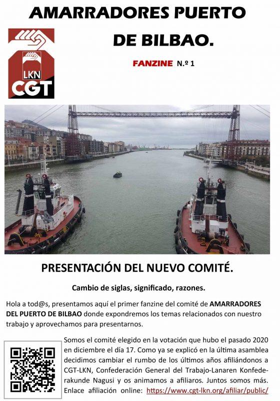 Fanzine Amarradores Puerto de Bilbao