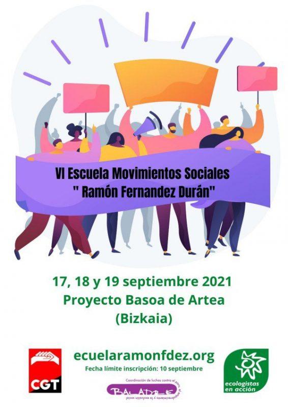 VI Escuela Movimientos Sociales