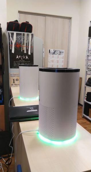 Purificador de aire con filtros HEPA