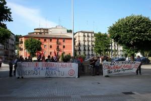 Concentración a favor detenidos 22-M 016