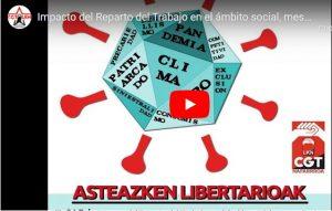 """Segunda Charla-Debate sobre el: """"Impacto del Reparto del Trabajo en el ámbito laboral"""" (Vídeo)"""