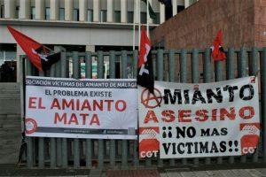 CGT Considera insuficiente la creación de un  Fondo para la Indemnización de las Víctimas del Amianto