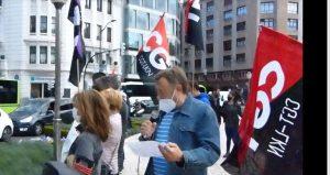 Entrevista a Andrés Gallego Morente Secretario General de CGT-LKN E. H. ( Por Juanjo Basterra)
