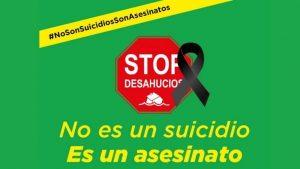 No es un suicidio, es un asesinato (STOP DESAHUCIOS EUSKADI)